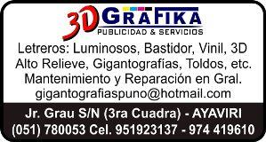 Fotos de 3D GRAFIKA Publicidad & Servicios