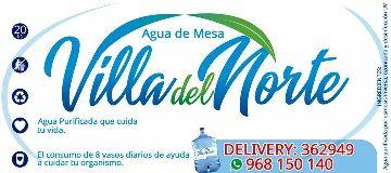 Agua de mesa VILLA DEL NORTE Piura