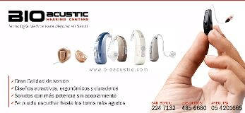 Audifonos para Sordera Bioacustic Lima