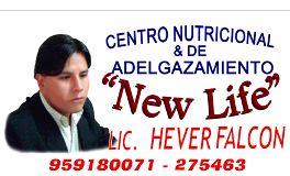 centro nutricional new life Arequipa