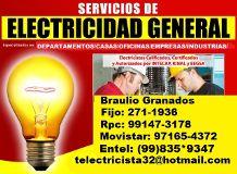 AB Electricista Independiente Las 24hrs A Domicilio Lima