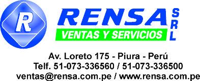 RENSA VENTAS Y SERVICIOS SRL Piura