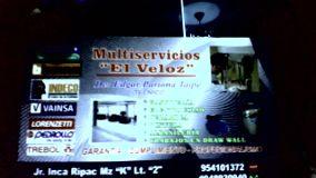 Foto de servicios multiples  el veloz